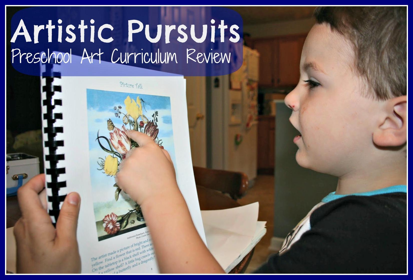 Artistic Pursuits Art Curriculum – Review