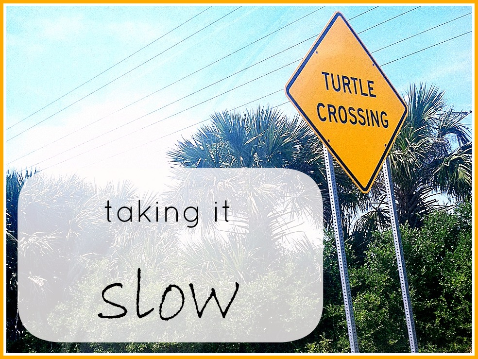 Taking It Slow: The Power of Yet