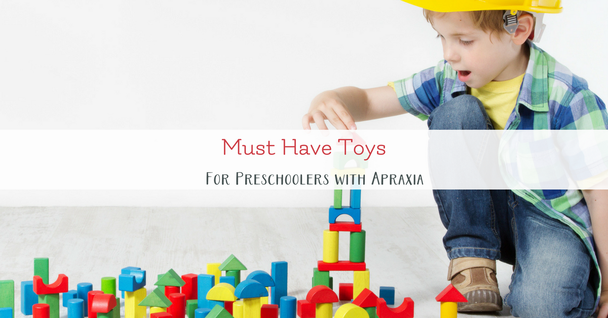 Toys For Preschoolers With Language Delays : Speech practice at home for preschoolers with apraxia