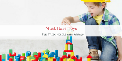 Using Toys for Speech Therapy at Home