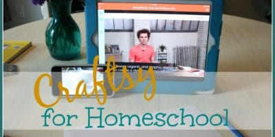 Craftsy Classes for Homeschool