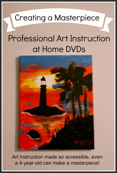 Creating a Masterpiece: Professional Art Instruction at Home
