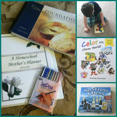 planning a classical homeschool kindergarten year cycle 3