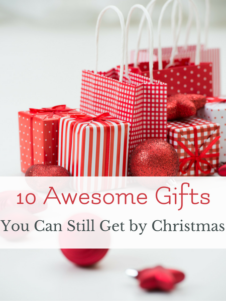 10 great gifts in time for Christmas