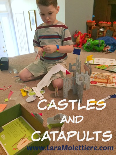 castle and catapult unit homeschool