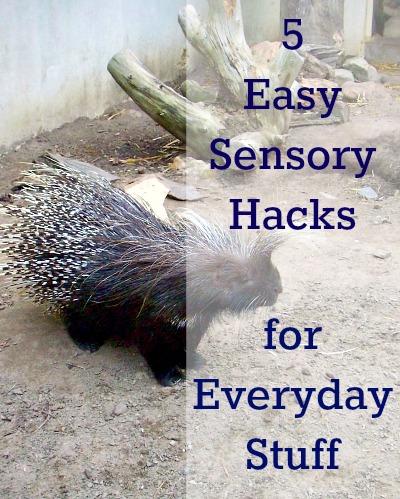 sensory processing easy tools