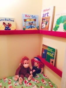 reading nook for elementary ages