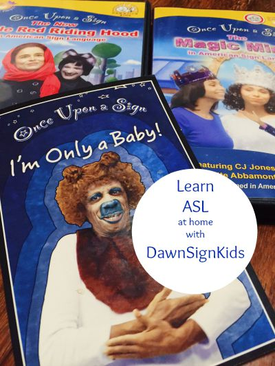 Learn ASL at Home with DawnSignPress