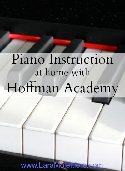 Piano Instruction at Home with Hoffman Academy