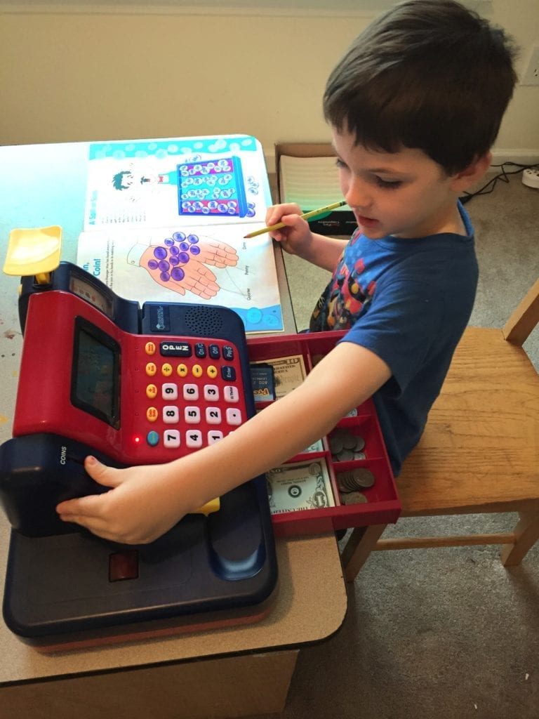 learning resources teaching cash register from rainbow resource.com