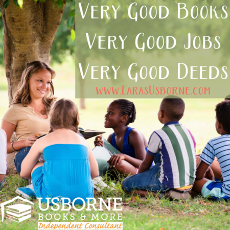 work from home change lives with usborne books