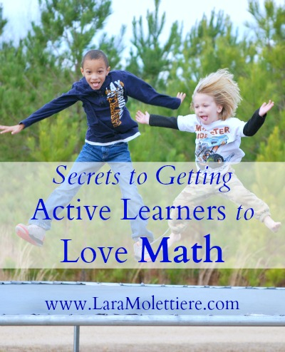 getting active learners to love math