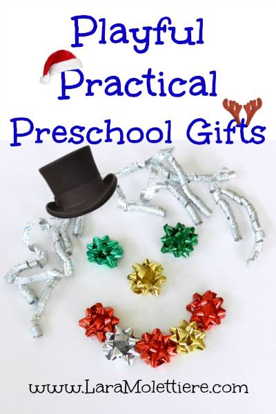 Playful Practical Preschool Gifts