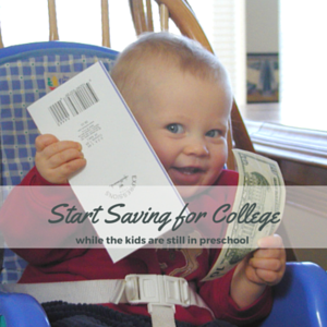 It's Never Too Early to Start Saving for College!