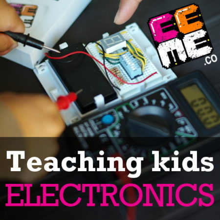 STEAM with EEME – Learning about Breadboards and more!