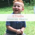 5 truths apraxia will teach you