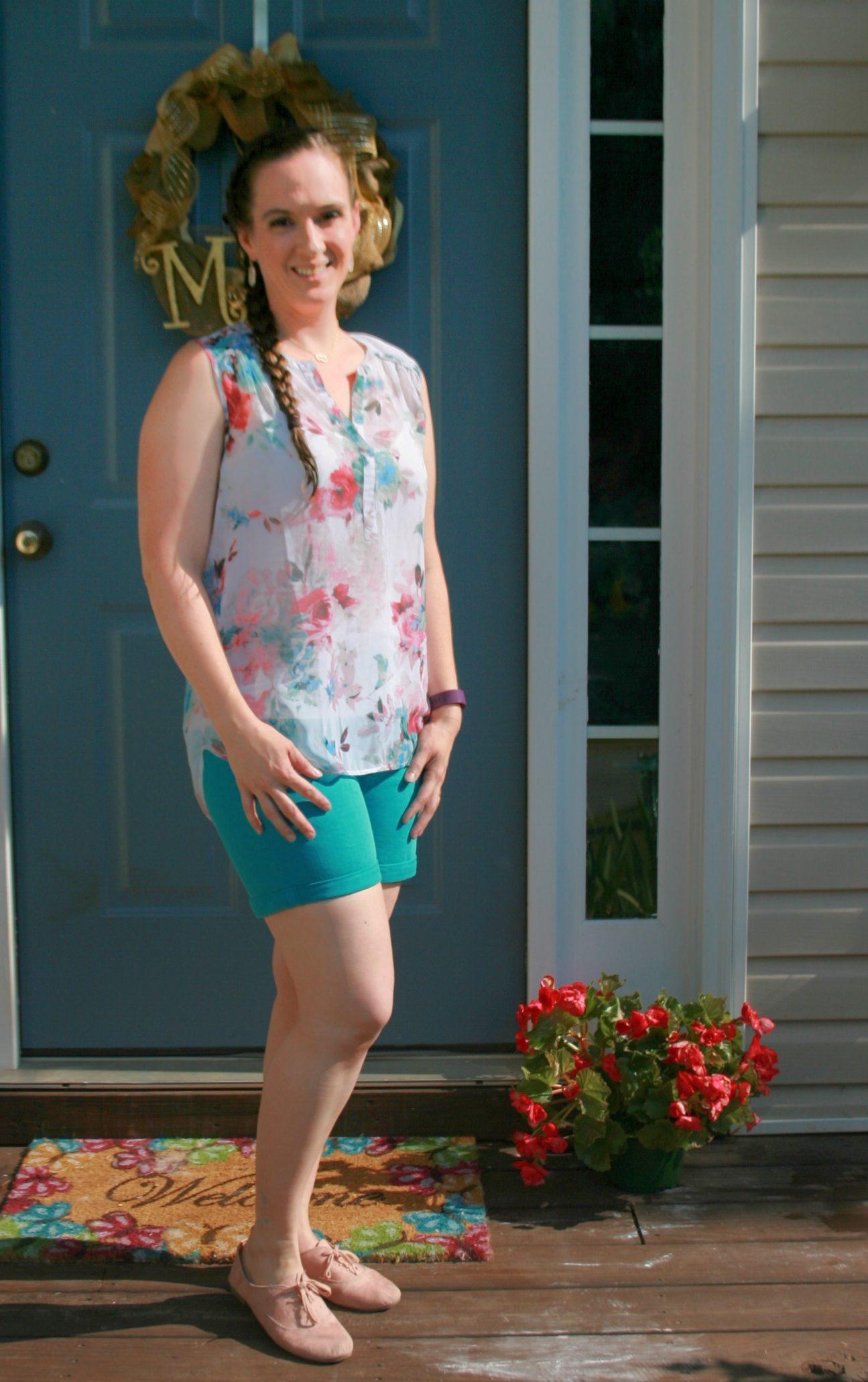 vivienne split neck blouse stitch fix