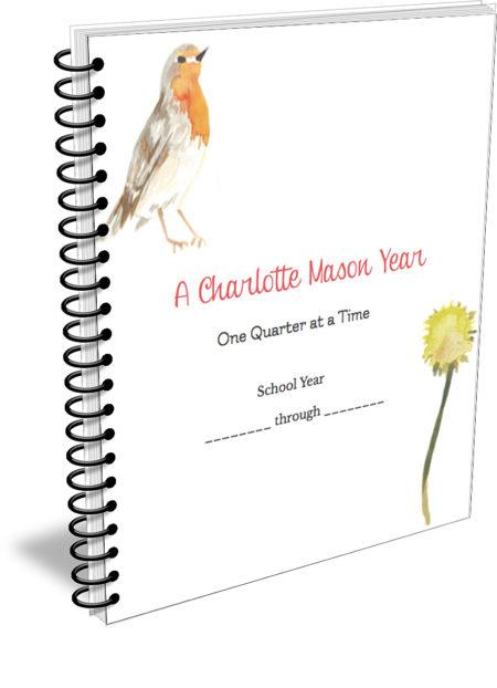 Charlotte Mason quarterly printable planner