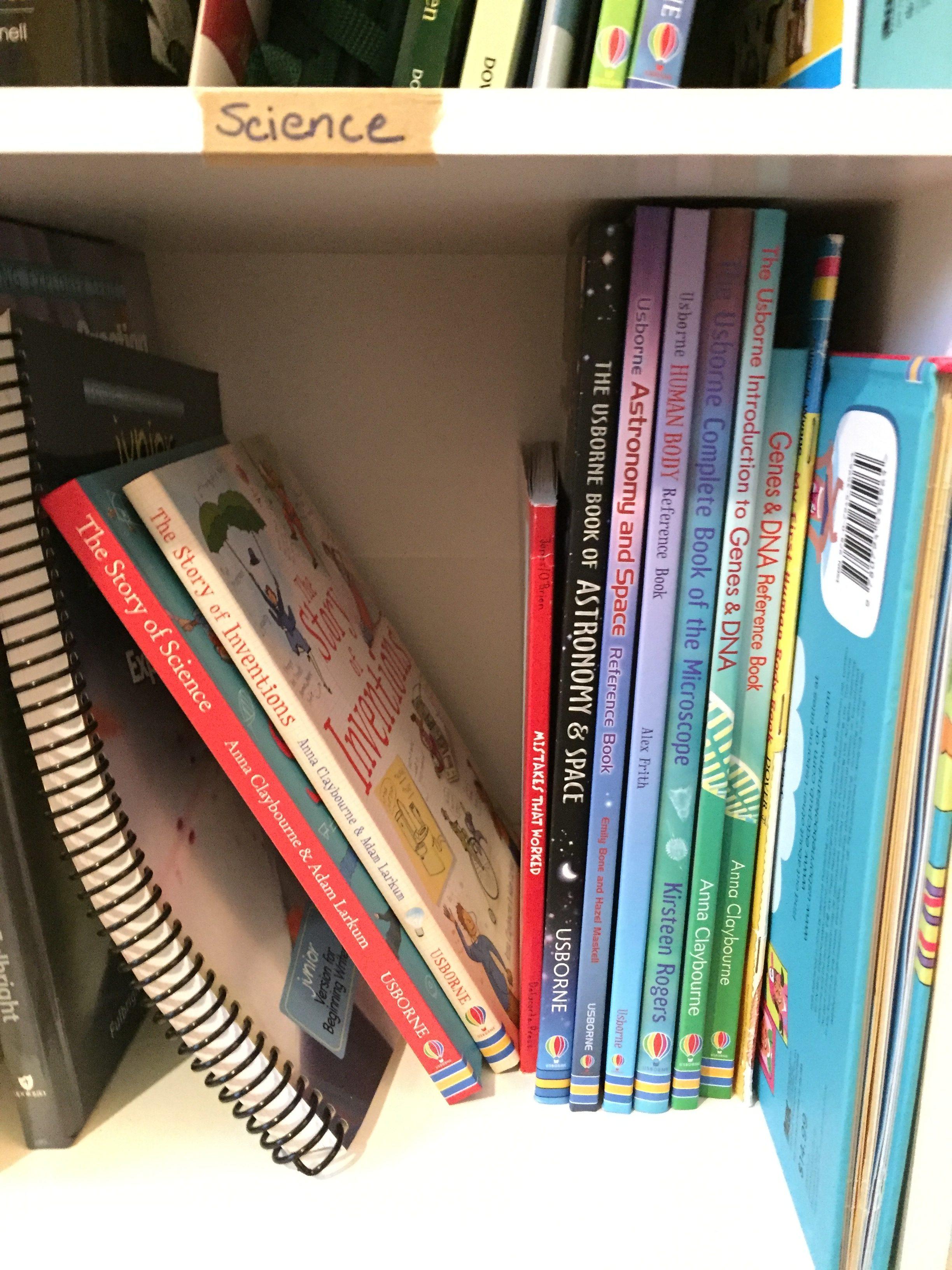 science curriculum living books