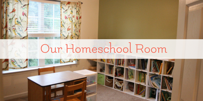 Our Homeschool Room Inspired by Charlotte Mason
