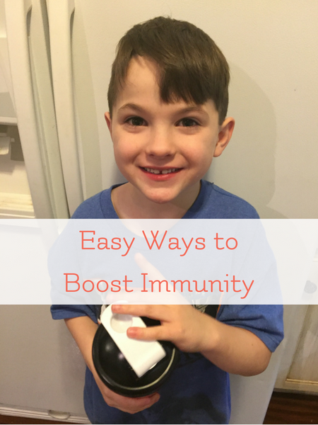 boost children's immunity with probiotics