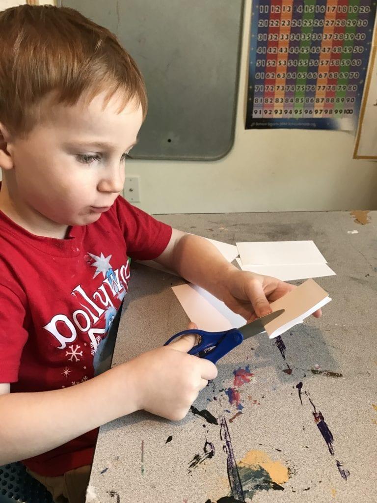 joining paper stem activity preschool