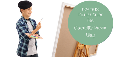 How to do Picture Study the Charlotte Mason Way (with a free printable!)