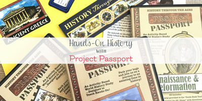 Hands-On Elementary History with Home School in the Woods