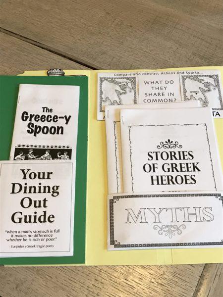 project passport lap book history