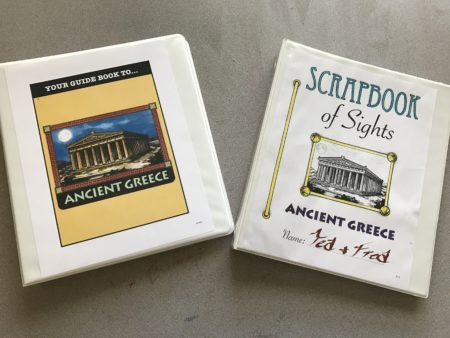 project passport ancient greece history unit study review