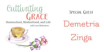 cultivating grace demetria zinga