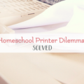 printer ink homeschool
