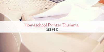 A Perfect Printing Solution for Homeschool Moms