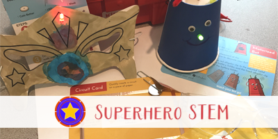 Superhero STEAM with KitHub