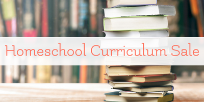 Homeschool Curriculum and Book Sale