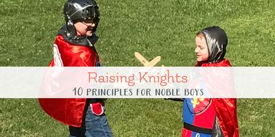 Raising Knights in Training