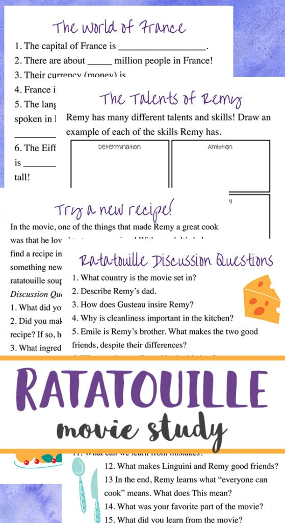 Ratatouille Is A Lovely Movie And Full Of Fun Things To Study Grab Get Our Super Simple Recipe