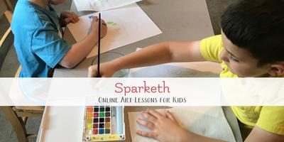 Online Art Lessons for Artistic Kids