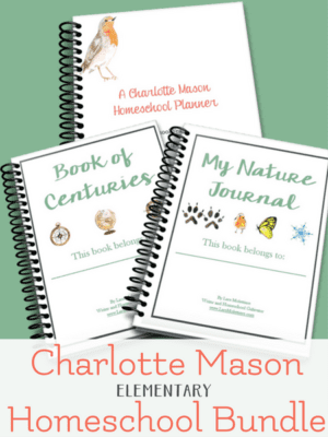 charlotte mason homeschool bundle