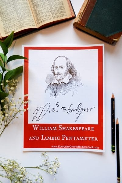 iambic pentameter workbook