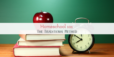 How to homeschool traditionally