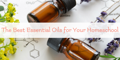 The best essential oils for homeschool use
