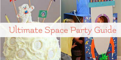 Space Party Fun for Astronomy Loving Kids