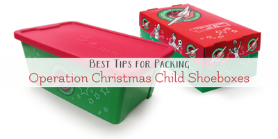 Best Tips to Pack an OCC Shoebox