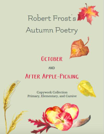 Robert Frost Poetry Copywork