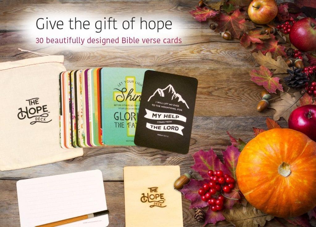 The Hope Deck gift for Christian moms