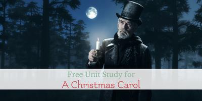 A Holiday Unit Study of A Christmas Carol Book