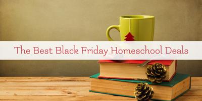 The Best Black Friday Deals for Homeschool