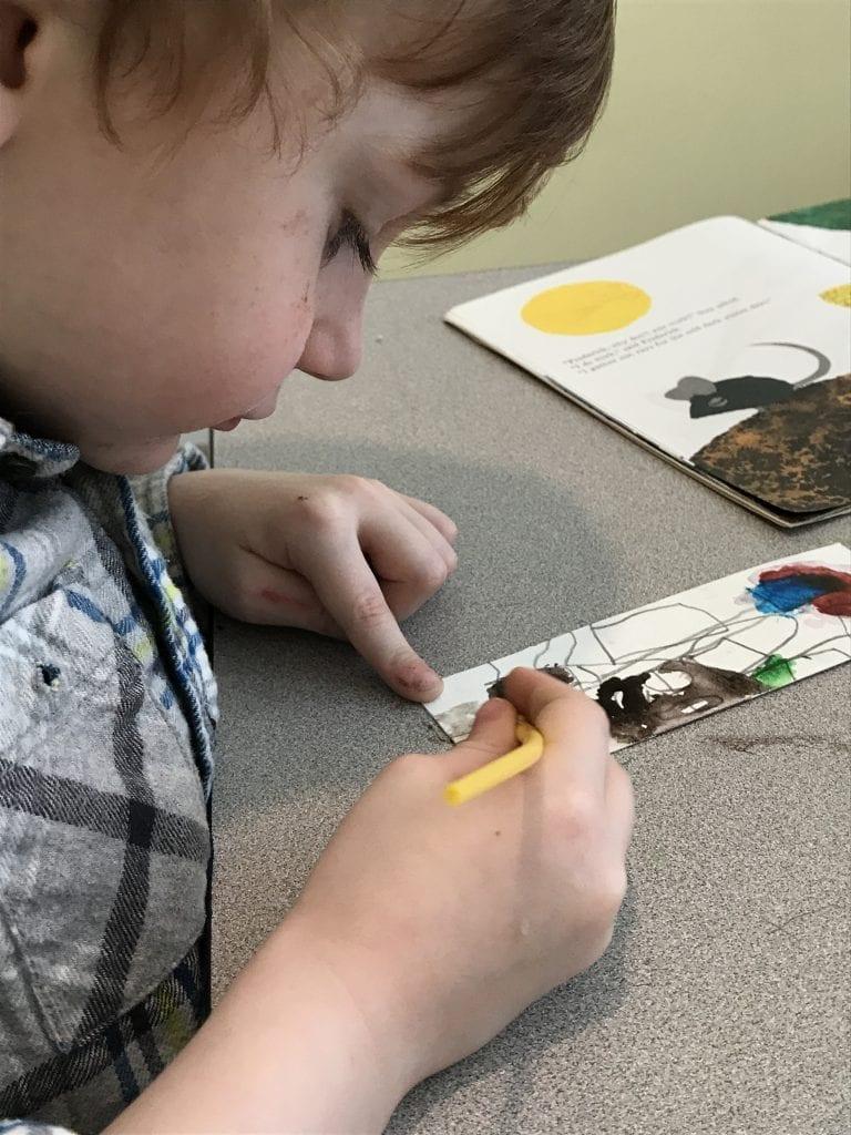 painting craft kids
