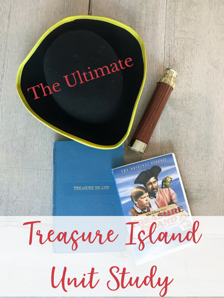 Treasure Island Unit Study for homeschool